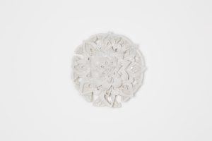 Laurel Lukaszewski, The Imperfect Mandala of the Tree of Life, Porcelain and glaze
