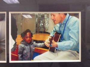 John Performing at the Children's Hospital