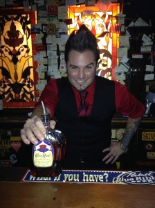 Jimmy and his one of his favorites – Crown Royal!