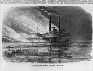 Sultana Disaster, from Harper's Weekly
