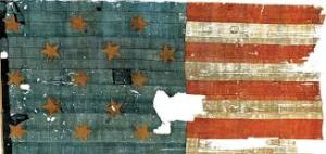 The Star Spangled Banner Flag, 1814