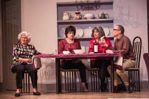 Janice Zucker (Frieda), Karen Jadlos Shotts (Marjorie), Marianne Meyers (Lee), and Jack Stein (Ira) photo by Misty Angel Photography.