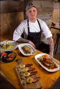 Chef James Duke at Copperwood Tavern