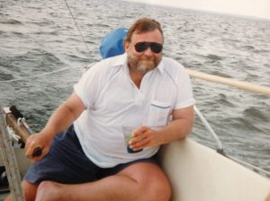 Personality Profile-Bill at the Helm of sailing vessel Therapy