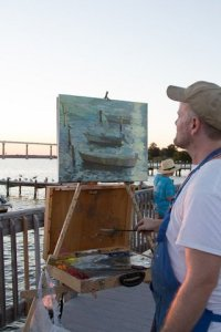 Plein Air-Patrick Lee - First Place Main Competition and Quick Draw