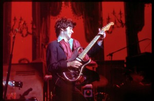 Robbie Robertson performing at the Last Waltz in 1976The Last Waltz - Nov. 25, 1976