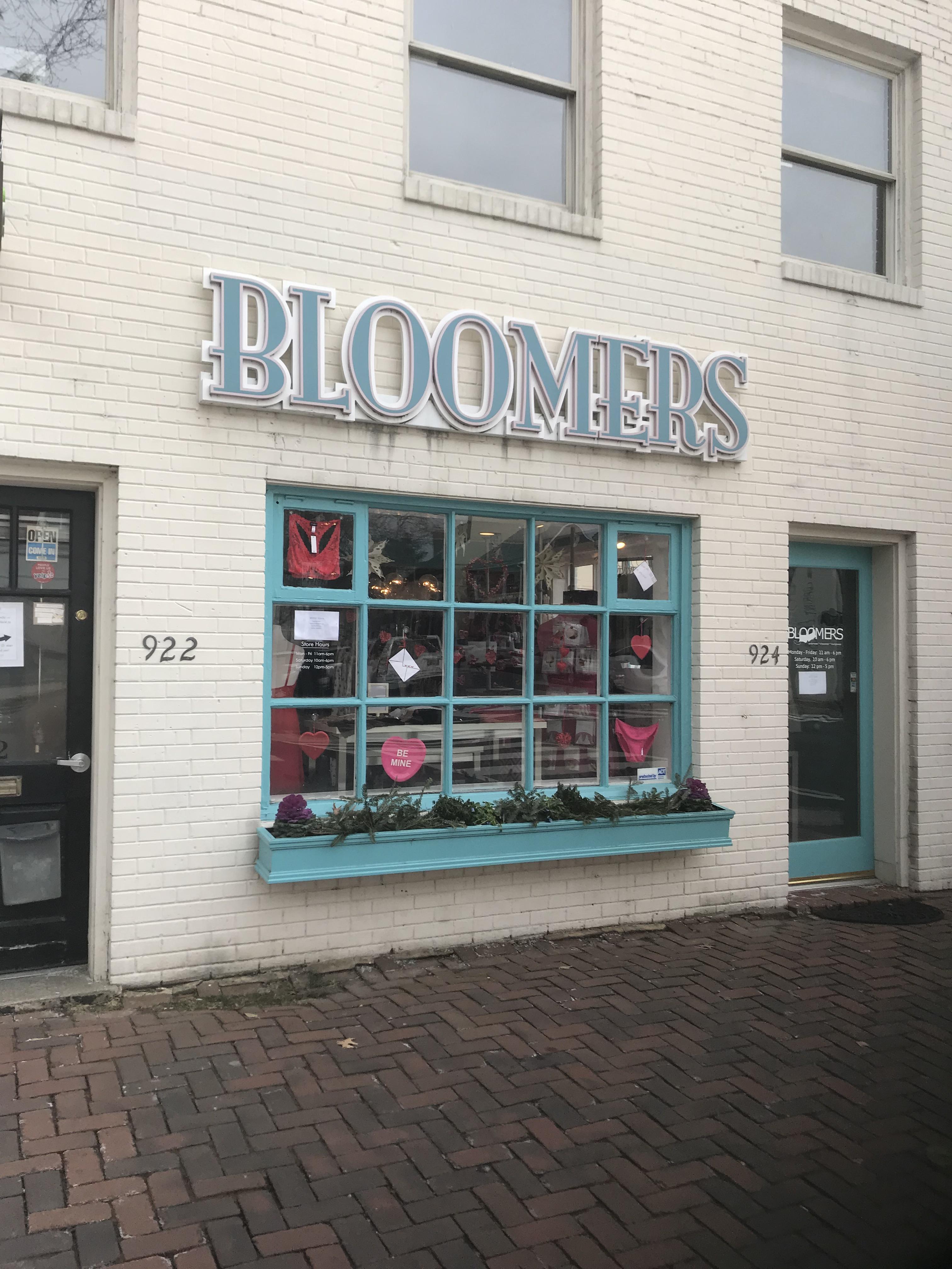 Pleasure wearing bloomers
